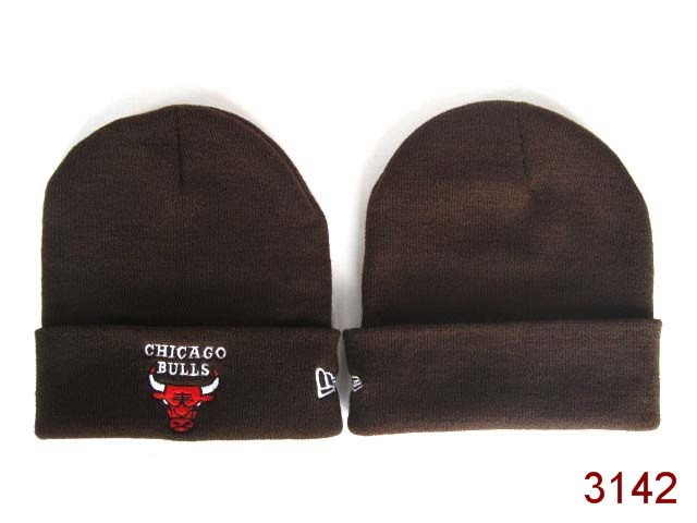 NBA Chicago Bulls Beanie Brown SG